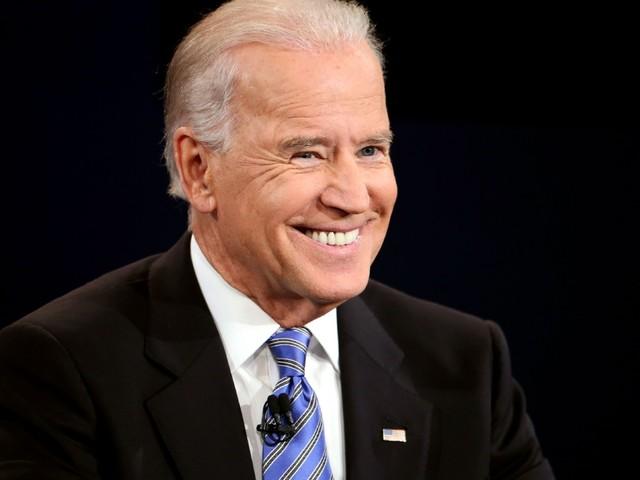 Joe Biden close to sealing nomination after primaries hat-trick