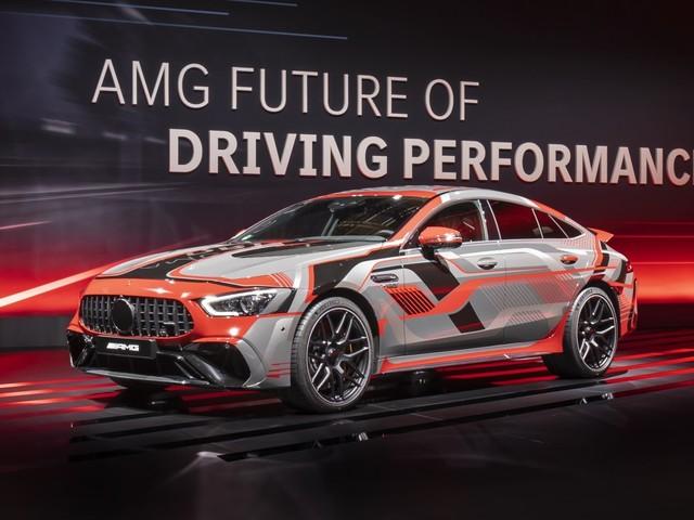 Mercedes-AMG reveals new 800hp+ plug-in hybrid powertrain