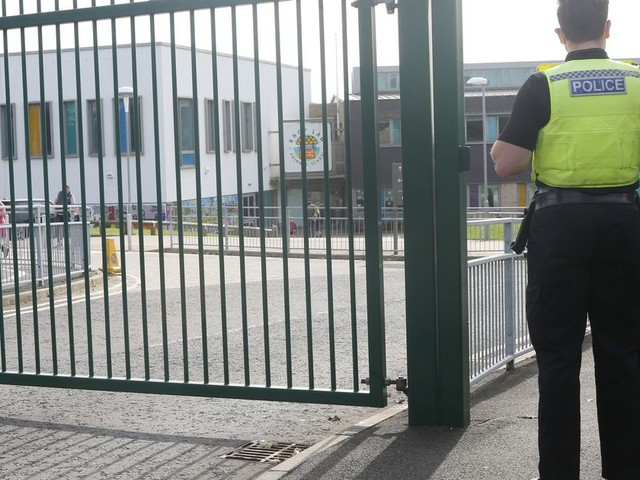 Girl, 7, left with serious injuries after being hit by truck on way home from school