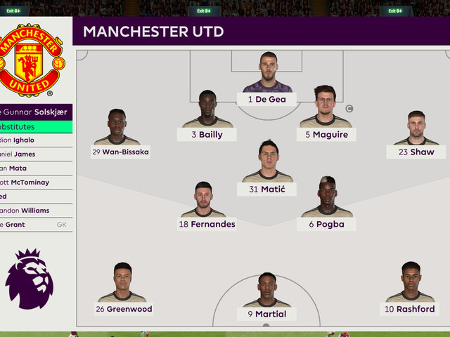 We simulated Aston Villa vs Manchester United to see what might happen
