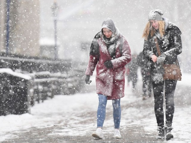 The Weather Forecast For Every Day In Birmingham This Week After Snow And Freezing Rain Warning