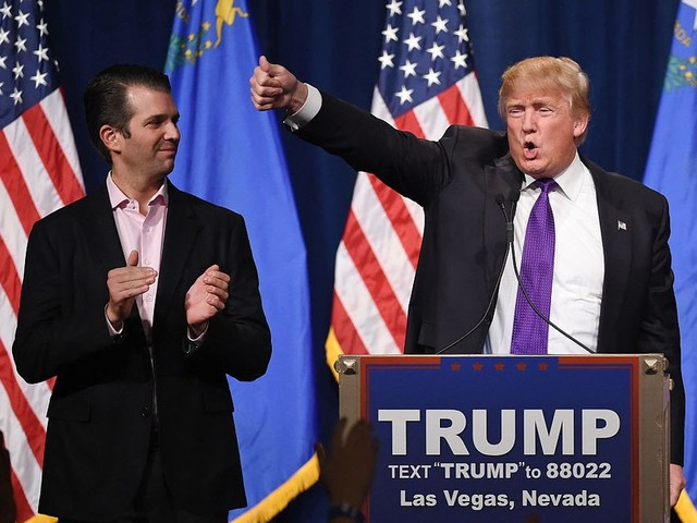 Trump team denied any Russia collusion again and again ... right up until Donald Jr. admitted it