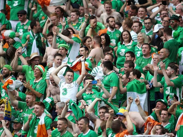 A look back on Irish fans partying at Euro 2016 in France