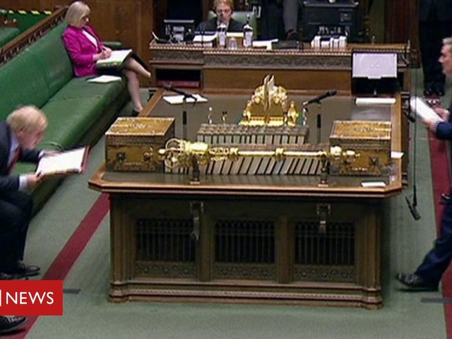 PMQs: Starmer and Johnson on free parking for NHS staff