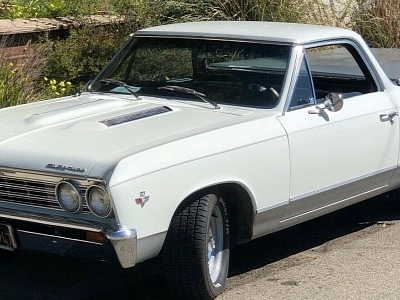 Spotless 1967 Chevrolet El Camino Flaunts Original V8 with Just 23K Miles