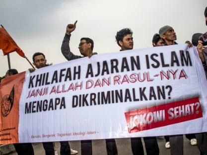 Indonesia bans local branch of Hizb ut-Tahrir