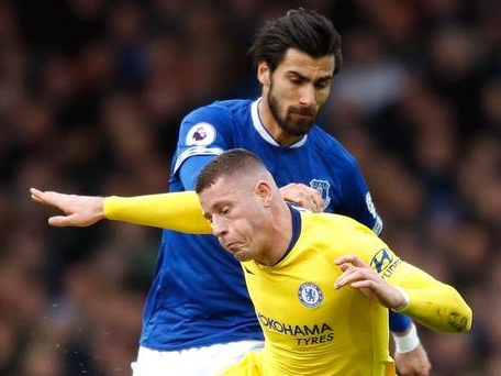 Everton investigate after object allegedly thrown onto pitch against Chelsea
