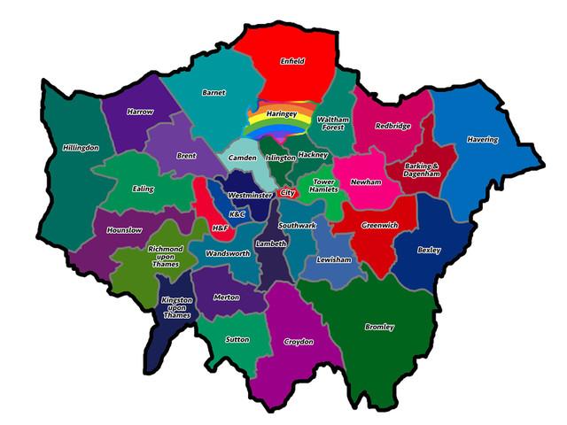 What Colour Is Your London Borough?
