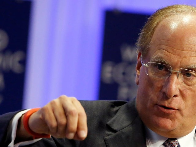 BlackRock CEO Larry Fink says companies should go public sooner as the market rebels against the likes of Uber and WeWork