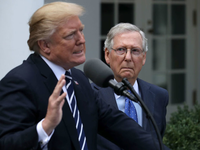 Trump and McConnell make a show of friendship, but that doesn't mean they get anything done