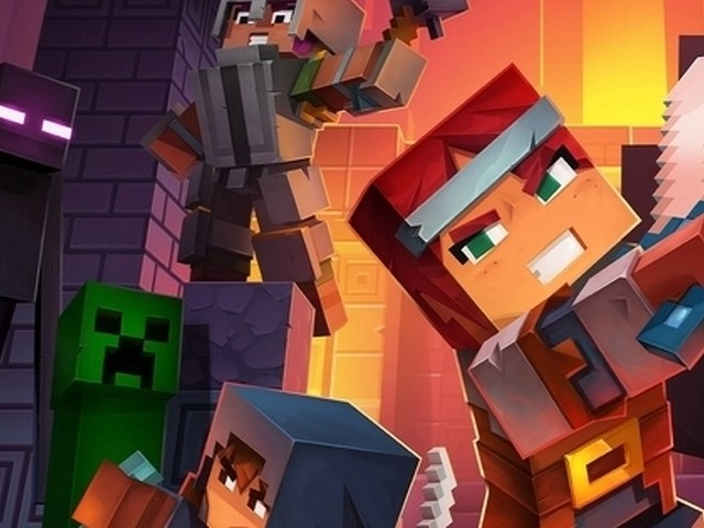 Minecraft Dungeons doesn't need to be a Minecraft game, but it's better for it