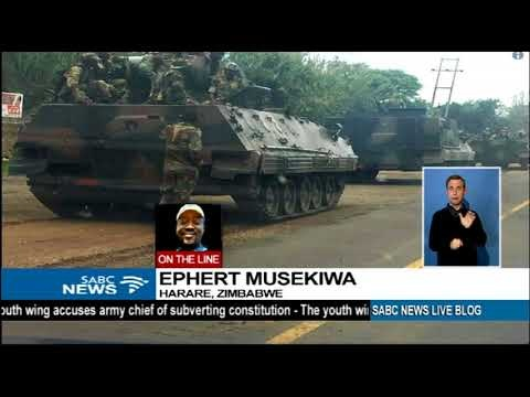 Soldiers Take Over National Broadcaster in Zimbabwe Amid Growing Feud With Mugabe