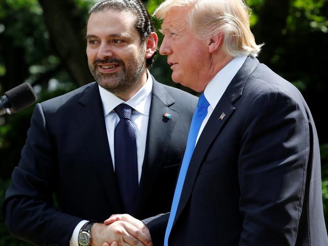 Trump Tells 2 Lies About ISIS And Bashar Assad As Lebanese Leader Listens