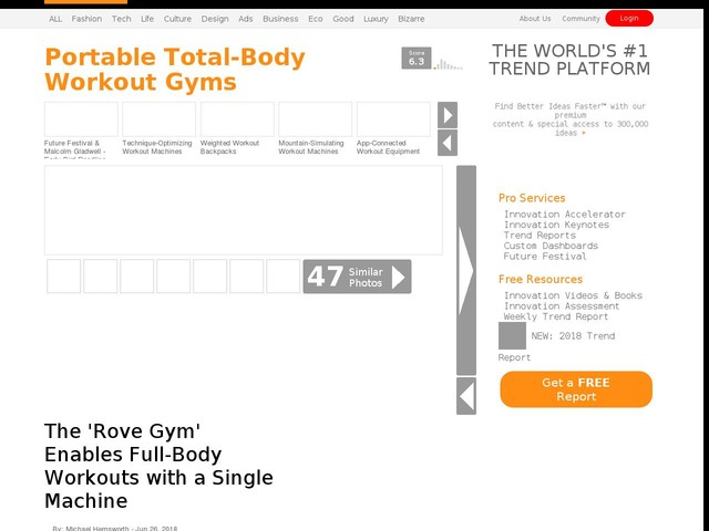 Portable Total Body Workout Gyms