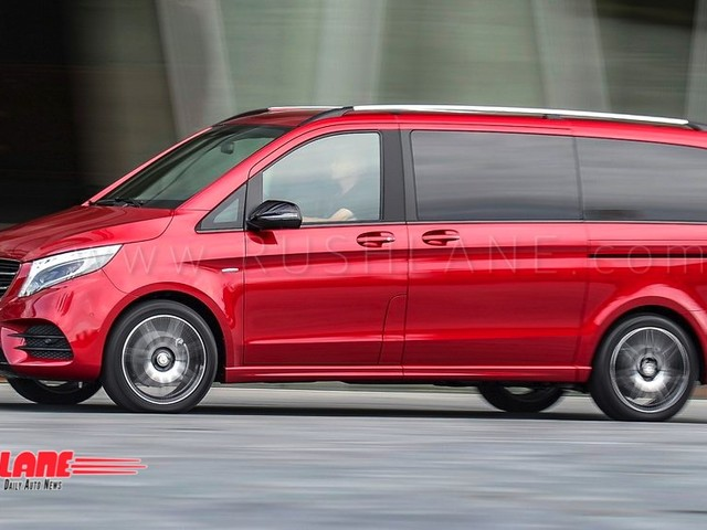 Mercedes V Class luxury van being assessed for India launch