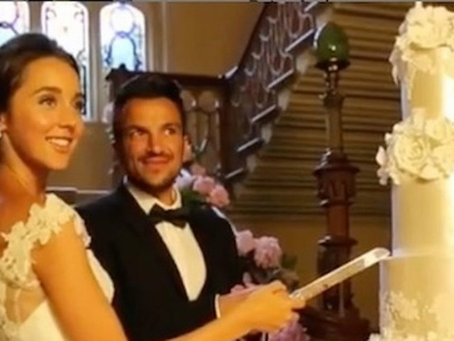Peter Andre and wife Emily give rare glimpse of their lavish wedding on four-year anniversary