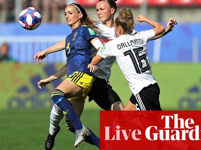 Germany v Sweden: Women's World Cup quarter-final – live!