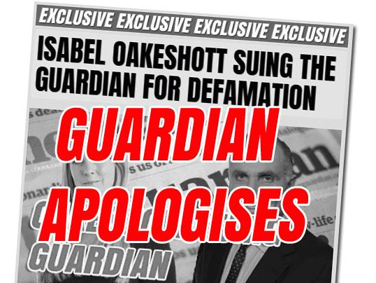 Sexist Smearing of Oakeshott Costs Guardian Five-Figure Sum