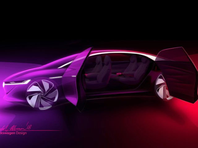 Volkswagen I.D. Vizzion Concept Goes Completely Driverless