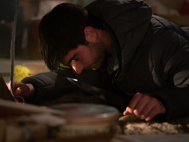 EastEnders spoilers: Whitney and Leo in a brutal fight to the death as he attacks her after hiding in her attic