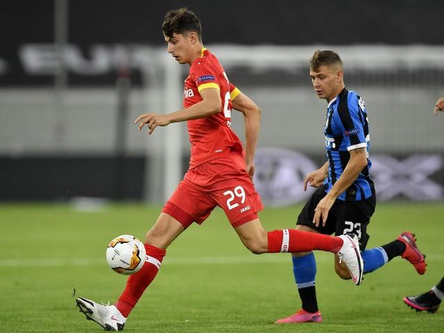 Kai Havertz transfer boost for Chelsea as Bayer Leverkusen exit Europa League