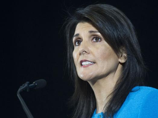 Nikki HaleyResign as Trump's UN Ambassador
