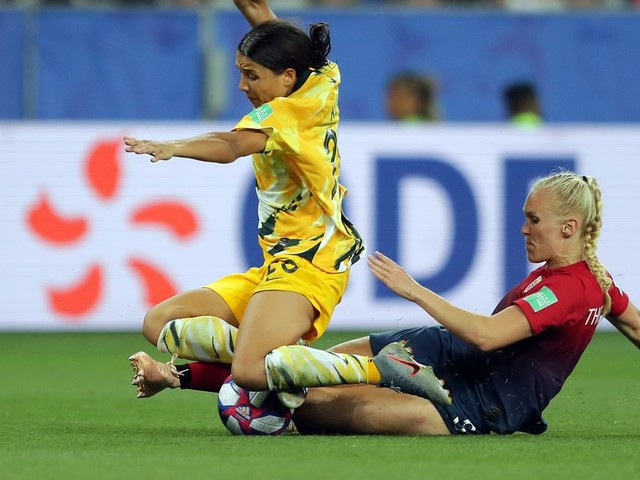 Chelsea duo keep Sam Kerr at bay as Norway advance to Women's World Cup quarterfinals