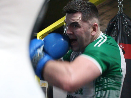 'He was in hospital for 55 days. I wanted to pull out of the fight but my wife said to do it for him'