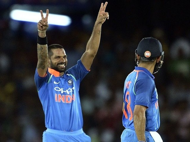 Dhawan not named in India's squad for last two ODIs