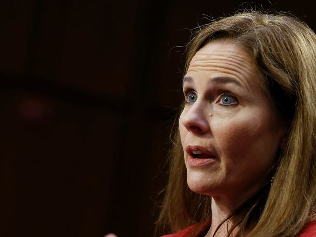 Amy Coney Barrett's fellow faculty members at the University of Notre Dame called on her to delay her nomination until after the election