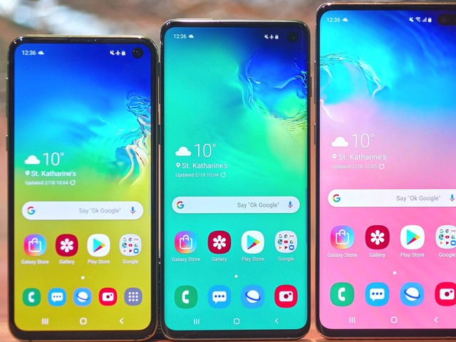 How to change a Samsung Galaxy S10's screen resolution to save battery or enhance its visual performance