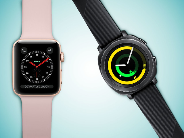 Apple Watch Series 3 versus Samsung Gear Sport