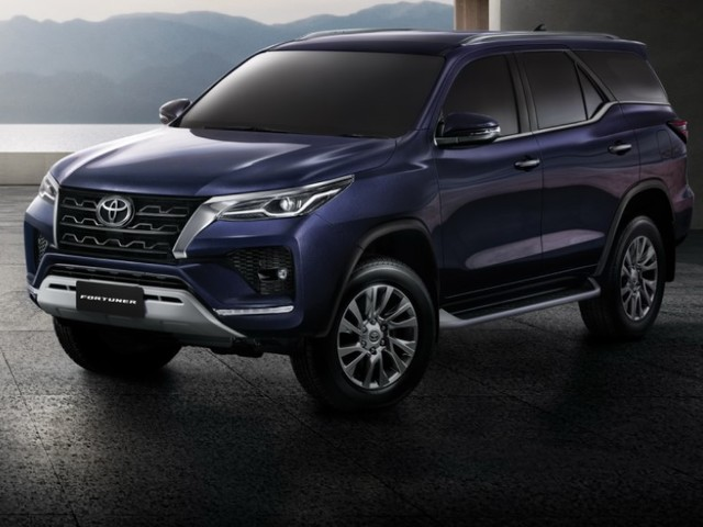 2021 Toyota Fortuner facelift revealed
