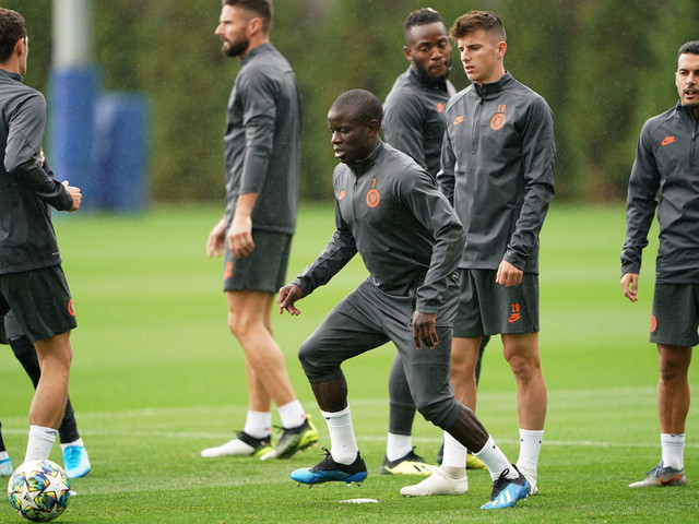 Kante returns to full Chelsea training with future at club uncertain as Lampard targets transfer for Kai Havertz