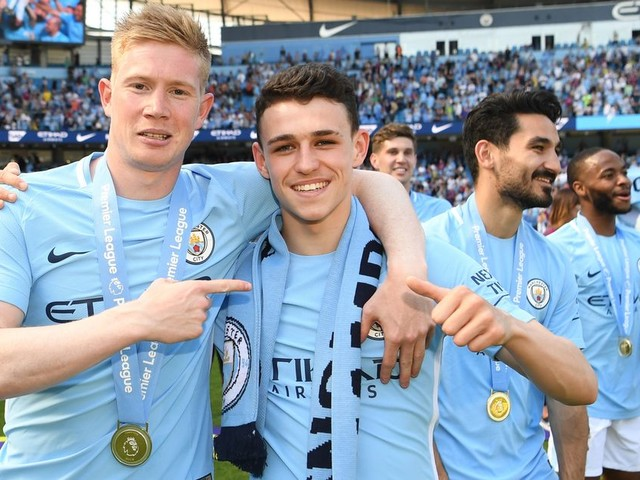 How Phil Foden has won over his senior Man City teammates
