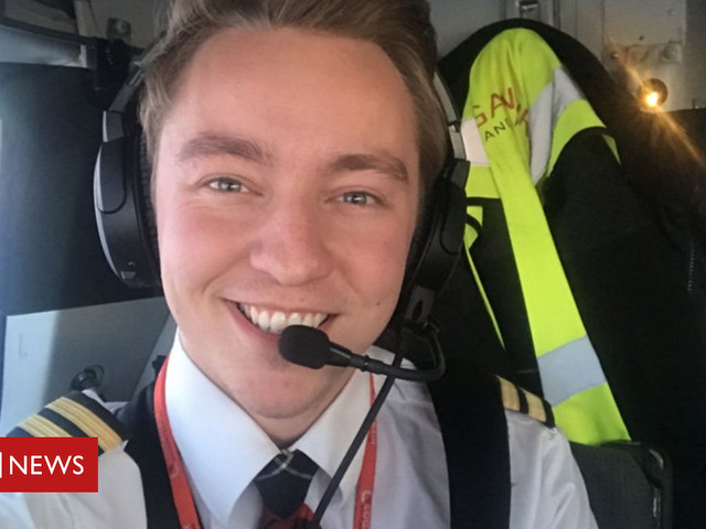 The young airline pilot who juggles with fire