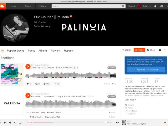 Artist-Supporting Music Platforms - The SoundCloud Platform Added New Ways to Support Artists (TrendHunter.com)