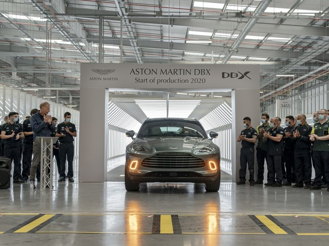 News : First Aston Martin DBX rolls off the line in Wales