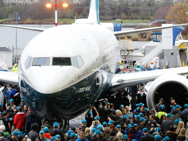 Trump announces all Boeing 737 Max jets are immediately grounded following its second crash in five months (BA)