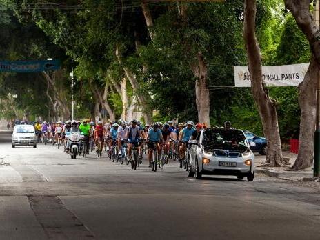 300 take part in national bike ride