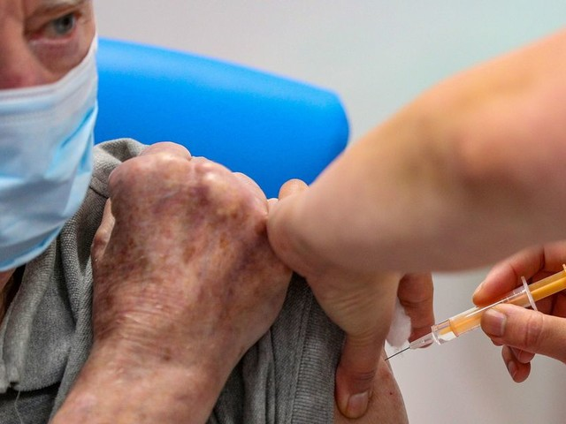Hancock says 75% of over 80s vaccinated but warns cases 'long way from low'