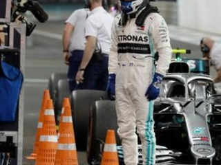Bottas best in 2nd practice for Abu Dhabi GP then crashes