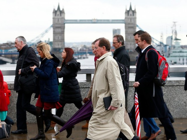 Britain's unemployment rate has plunged to 4% — a level not seen in more than 40 years