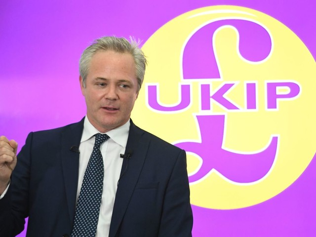 New Ukip leader Richard Braine says he 'loves' controversial party activist Carl Benjamin who joked about raping Labour MP and abusing young boys