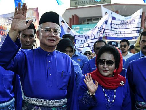 Police raid apartments linked to Najib's family
