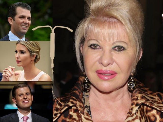 Could Ivana Trump Have Conceived Three Children While She Had an IUD?