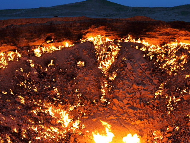 Turkmenistan: Burning Craters And Empty Cities