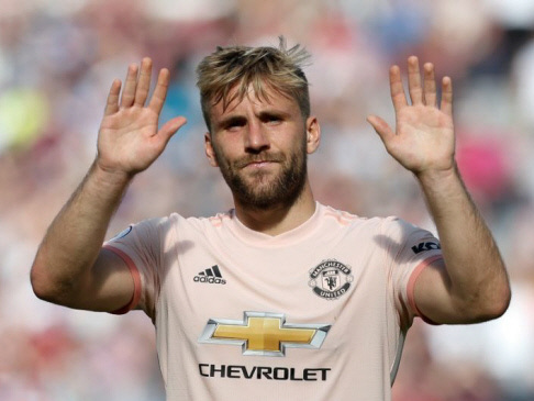 Luke Shaw blasts 'horrendous' Man United display