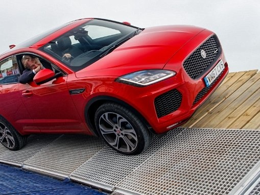 Jaguar's new E-Pace baby SUV now officially on the road