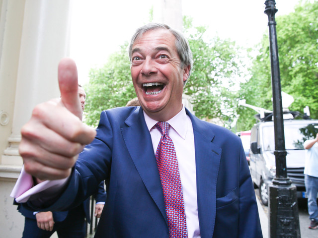 What is The Brexit Party and who are the 50 MP candidates in Nigel Farage's party?